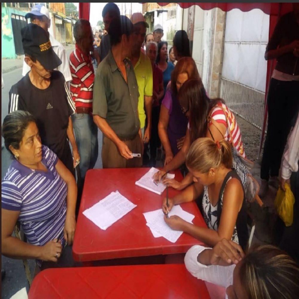 Denunciaron que puntos rojos  están cercanos a centros de votación