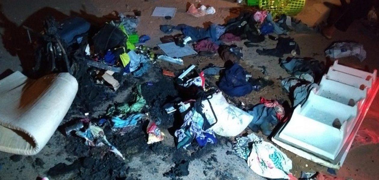 Venezolanos en Roraima fueron atacados y expulsados de refugio