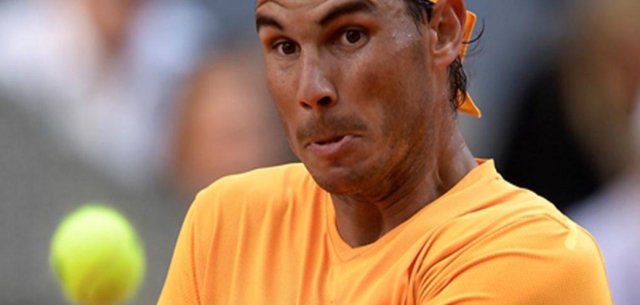 Rafael Nadal cayó en Madrid ante Dominic Thiem