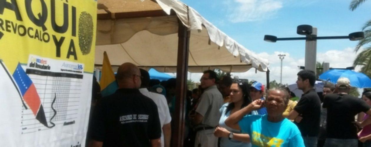 Recolección de firmas en Guayana contará con 33 puntos y 132 máquinas
