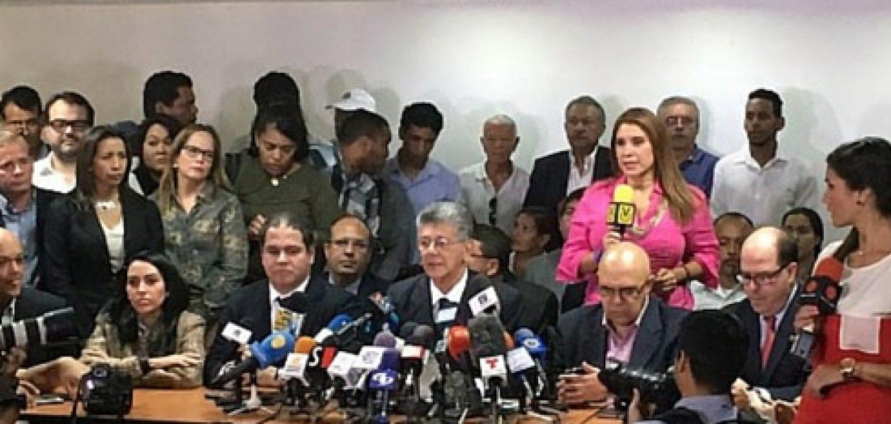 Ramos Allup: «Sala Constitucional alejará el referendo revocatorio tan lejos como pueda»