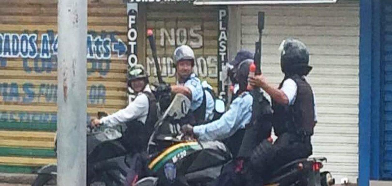 Vuelve la represión en Ciudad Bolívar durante marcha hasta la Policía