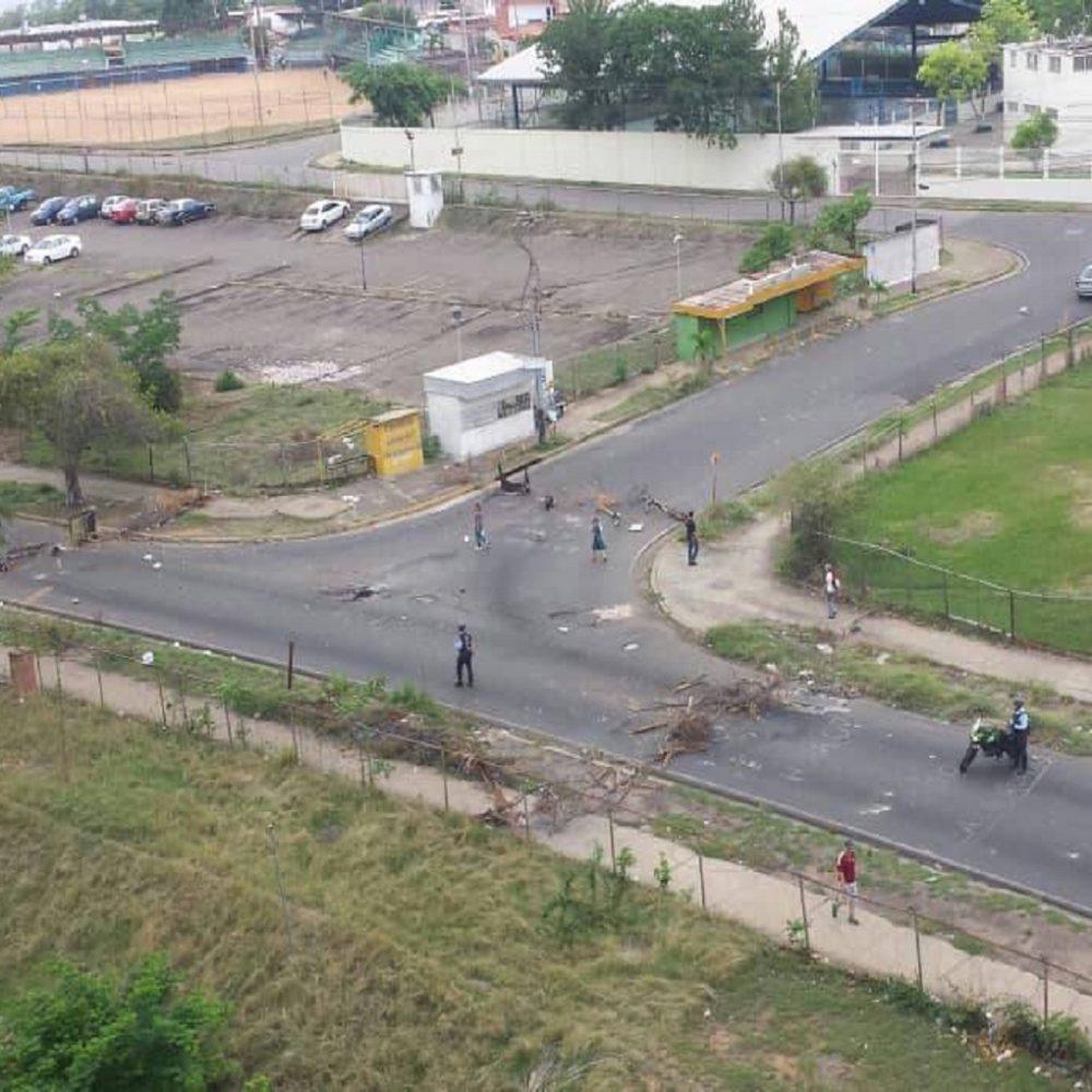 Un detenido y un policía herido en represión en La Churuata en Puerto Ordaz