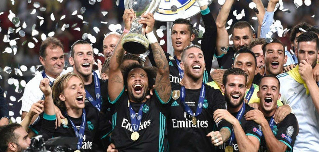 Real Madrid alza su cuarta Supercopa de Europa