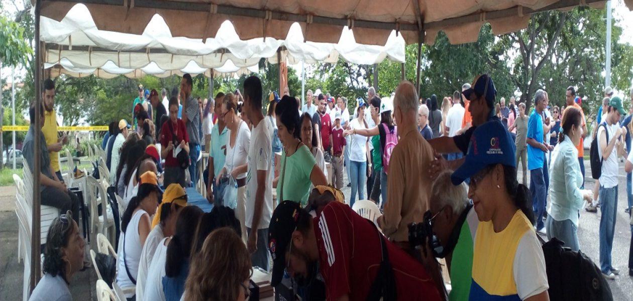 En Bolívar esta es la cifra de los resultados de la consulta popular