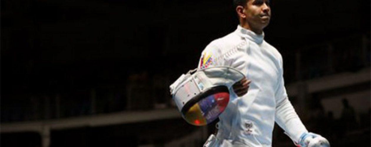 Rubén Limardo cayó en su debut en los Juegos Olímpicos