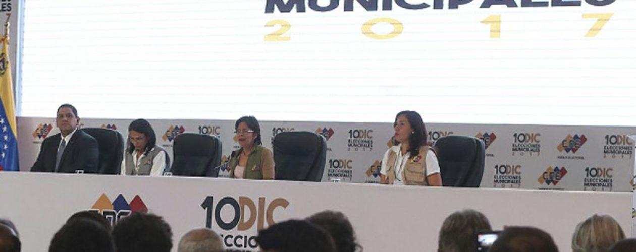 """Tras resultados de municipales MUD calificó de """"fraudulento"""" el sistema electoral"""