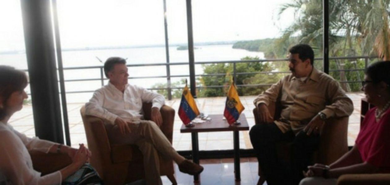 Reunión de Santos y Maduro: Frontera con Colombia se abrirá de forma gradual