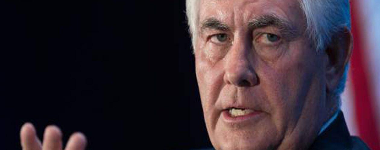 Tillerson y canciller argentino estudian sanciones petroleras a Venezuela