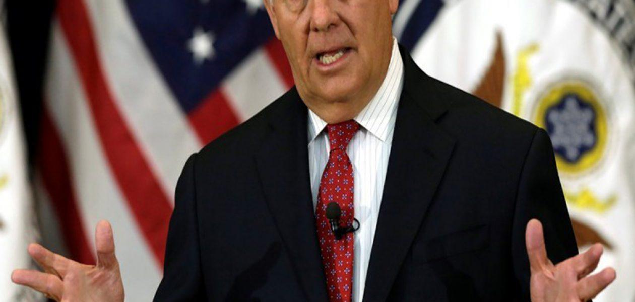 Tillerson: El mundo está despertando al llamado de los venezolanos