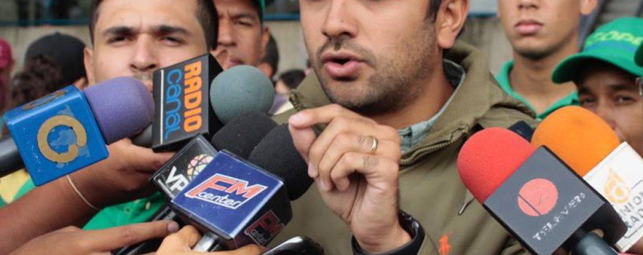 Robert García se postula como candidato a la Alcaldía de Chacao