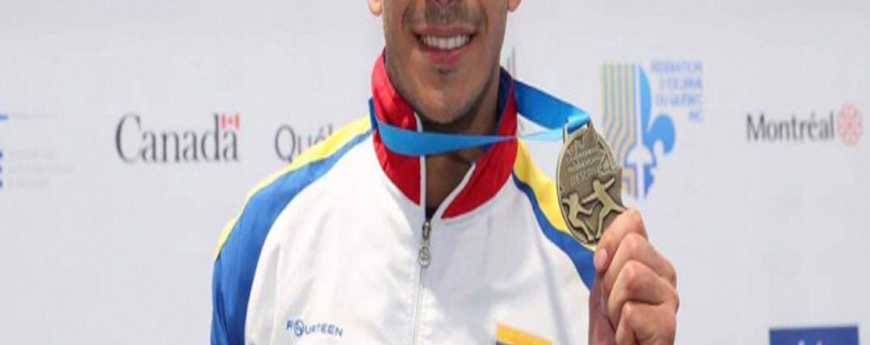 Rubén Limardo campeón del Panamericano de Esgrima