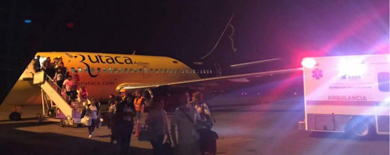 Avión de Rutaca perdió un motor durante trayecto Puerto Ordaz – Caracas