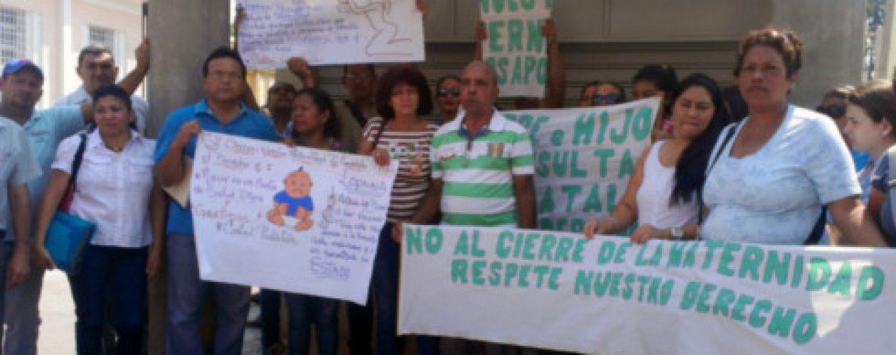 Trabajadores de salud en Aragua no cesan las protestas