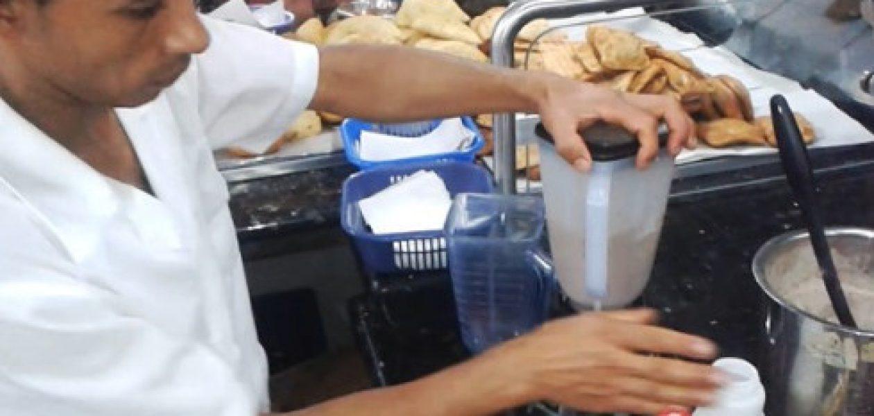La bomba: la vedette del mercado de San Cristóbal