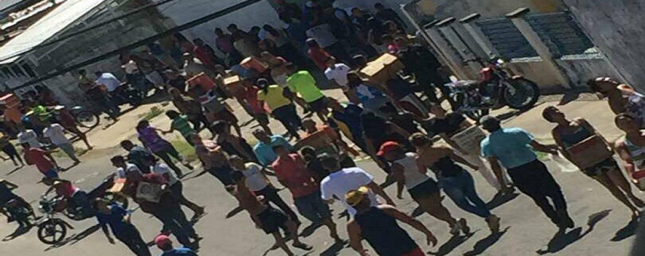 Conatos de saqueos en Ciudad Bolívar durante la Navidad