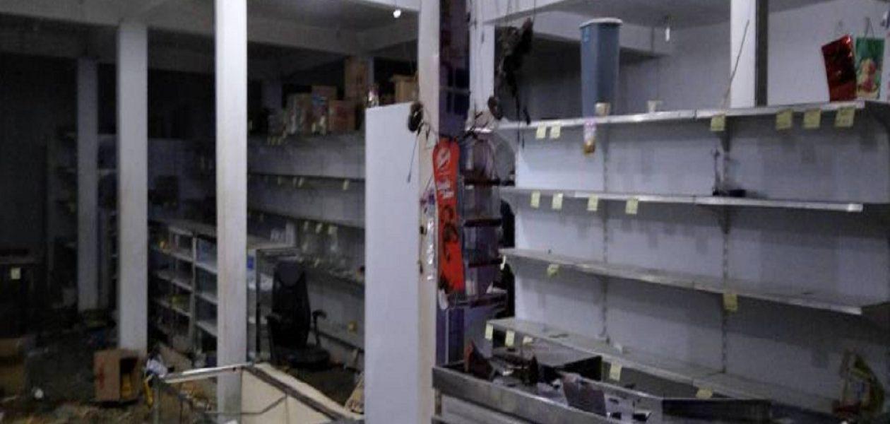 Saqueos en Puerto Ordaz deja al menos ocho comercios afectados