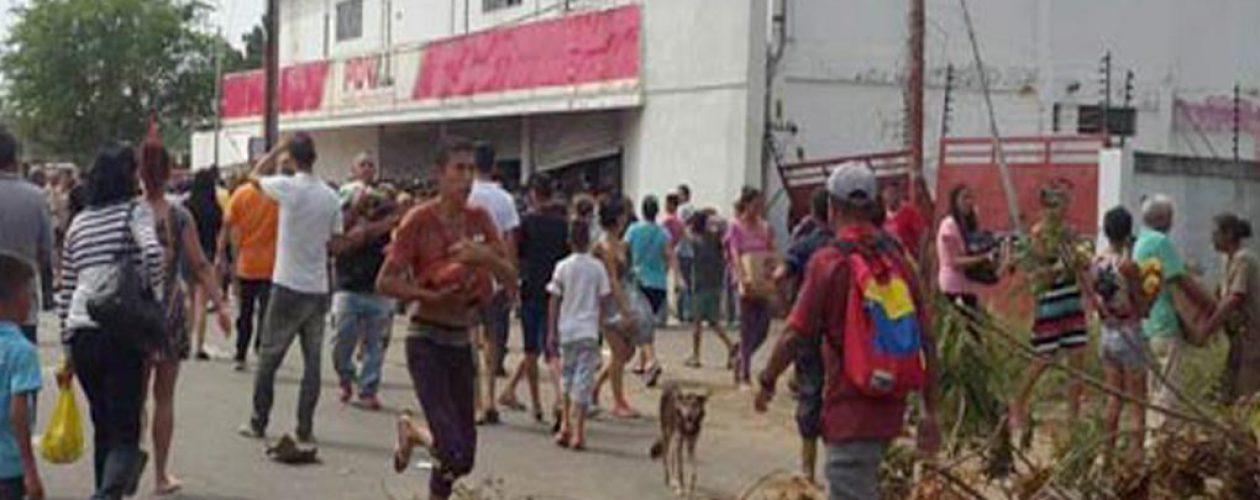 Saqueos en Tejerías deja nueve personas detenidas
