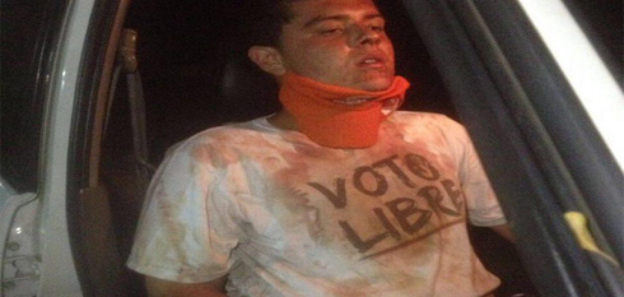 Sebin agredió a un militante de Voluntad Popular del Zulia