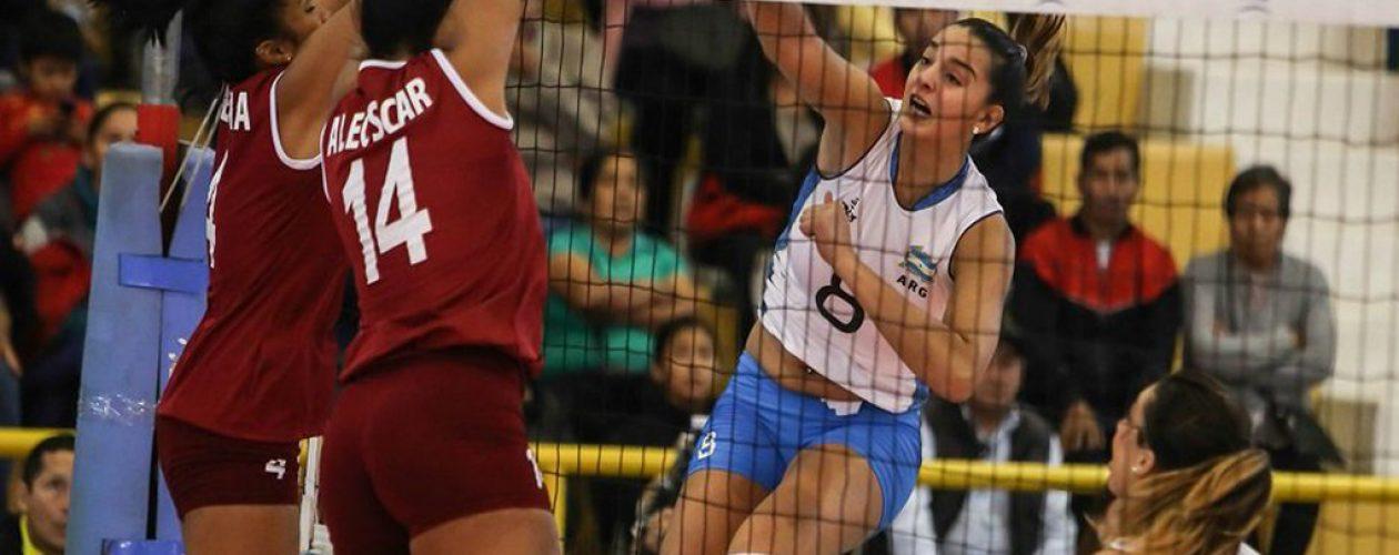 Venezuela obtiene primera victoria en Panamericano de voleibol femenino