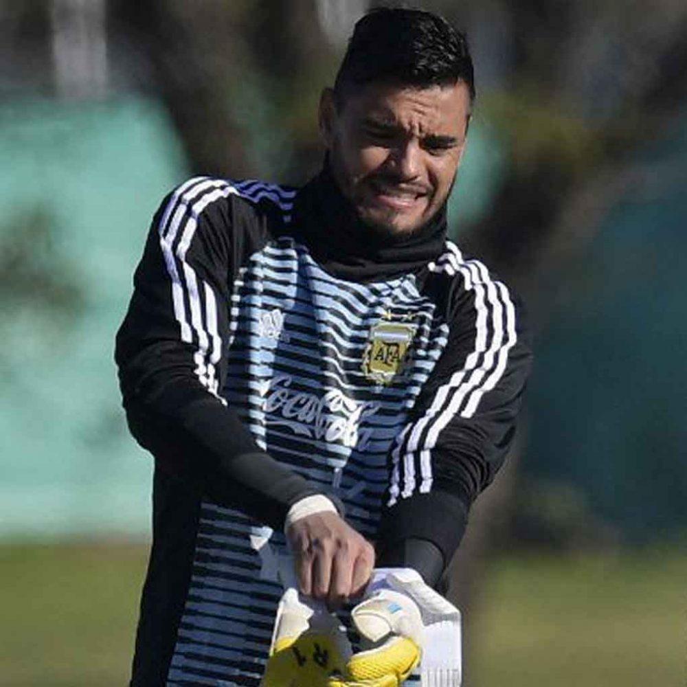 Sergio Romero, portero de Argentina se perderá el Mundial por lesión