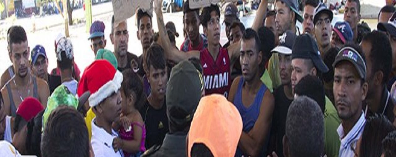 Inmigrantes venezolanos son expulsados de las calles de Cúcuta