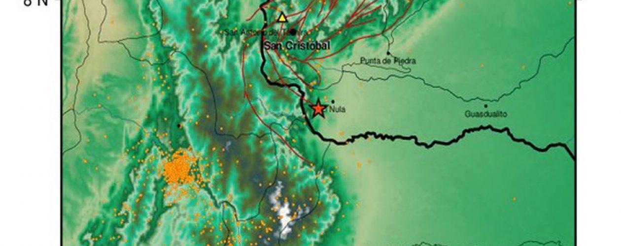 Sismo en Apure hoy sábado fue de magnitud 5.1