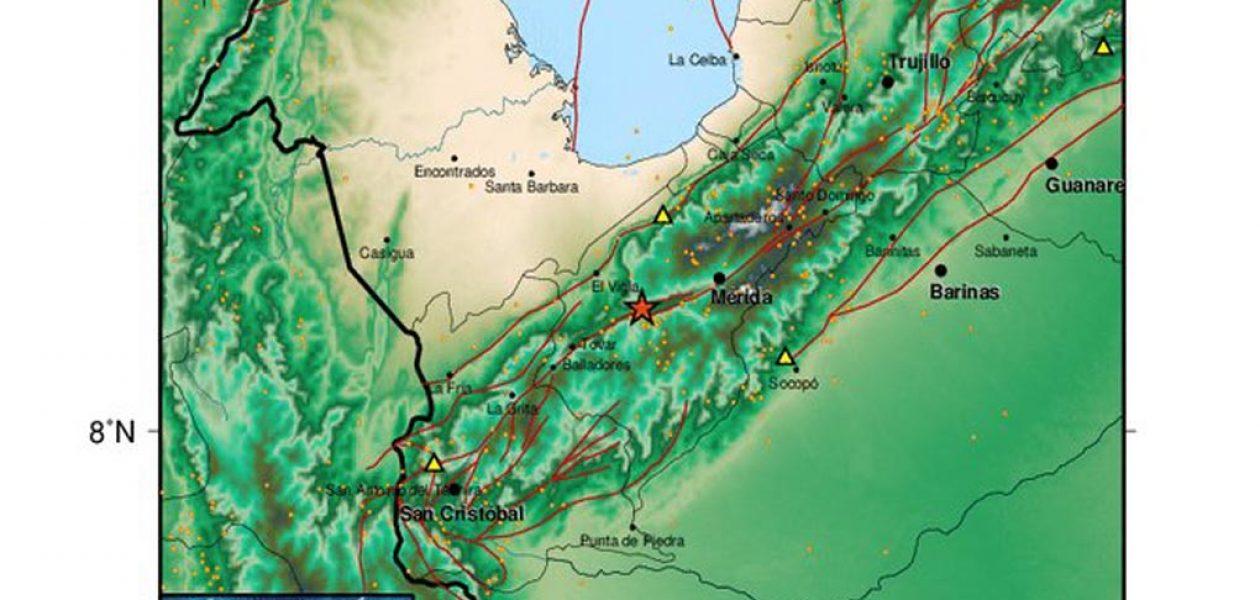 Funvisis reportó sismo  en El Vigía de 4.0