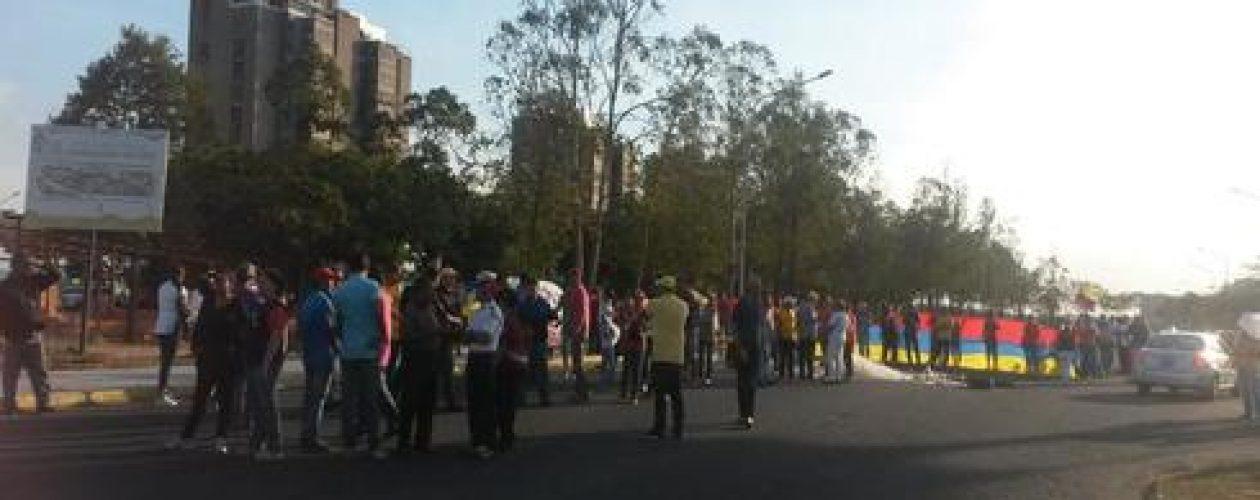 Guayana protesta por situación en Venezuela