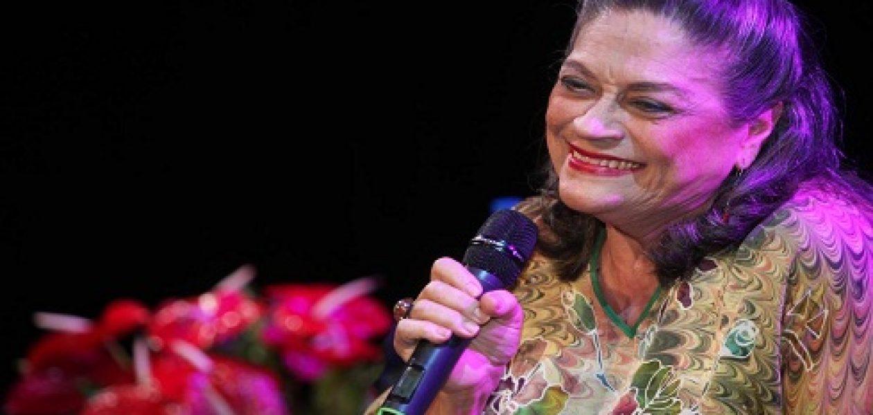 Soledad Bravo fue víctima de la desbordada delincuencia