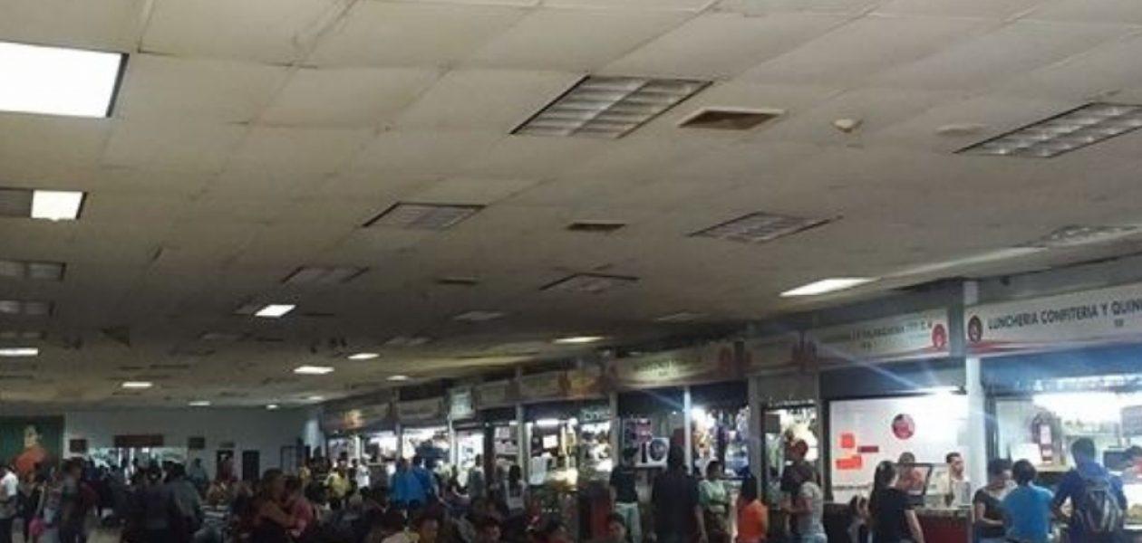 Denuncian el deplorable estado del Terminal La Bandera pese de habérsele entregado una fortuna en recursos