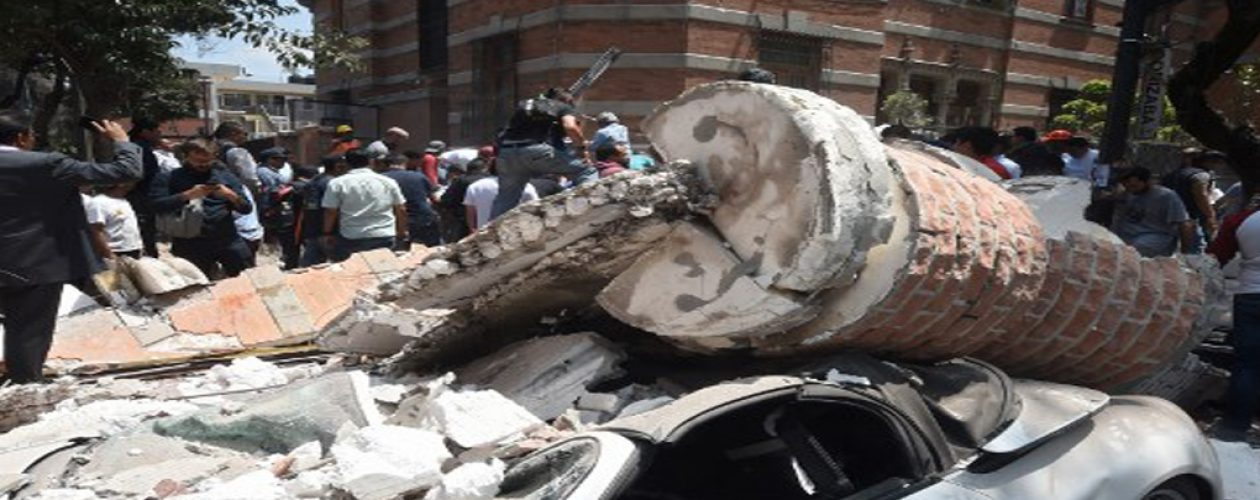 Fuerte terremoto de 7,1 sacude México