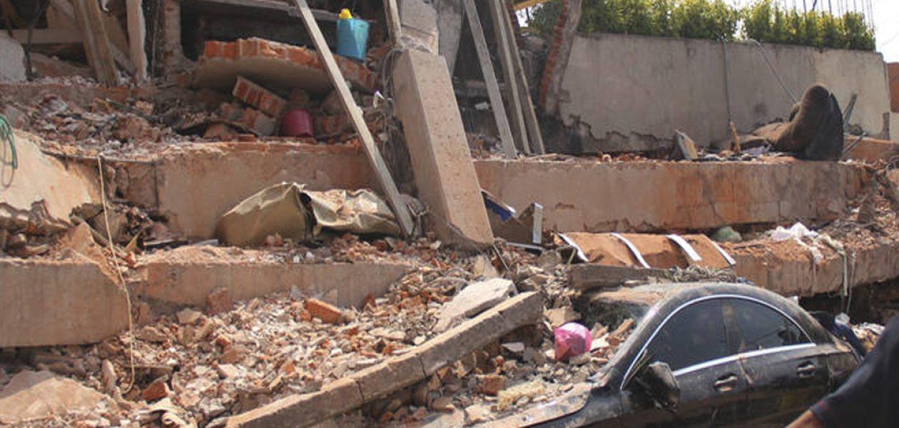 Al menos 248 muertos ha dejado el terremoto en México