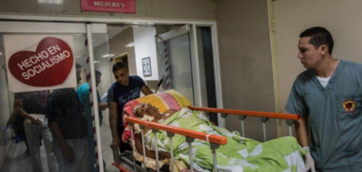 The New York Times muestra al mundo la peor crisis hospitalaria en Venezuela