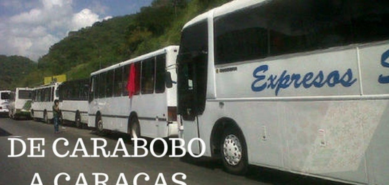 Carabobo va resteado a la toma de Caracas