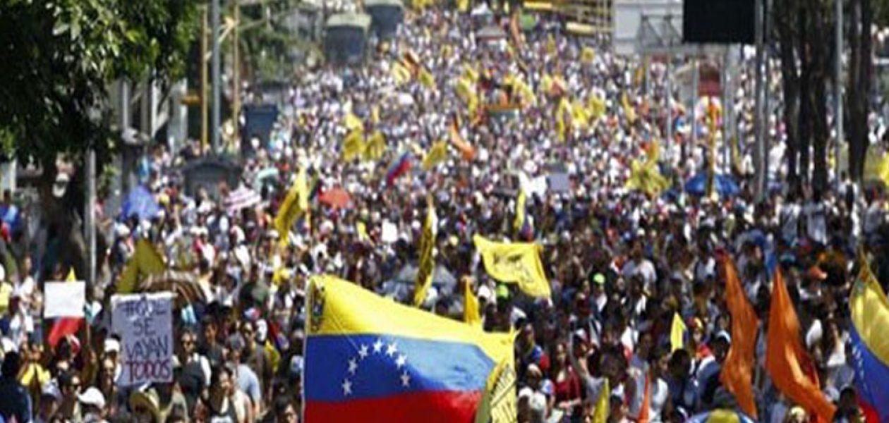 MUD anuncia la Toma de Venezuela para este viernes