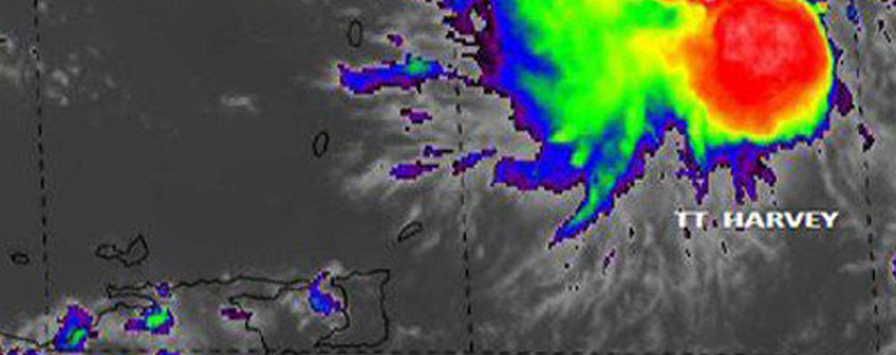 Tormenta Tropical Harvey amenaza costas venezolanas