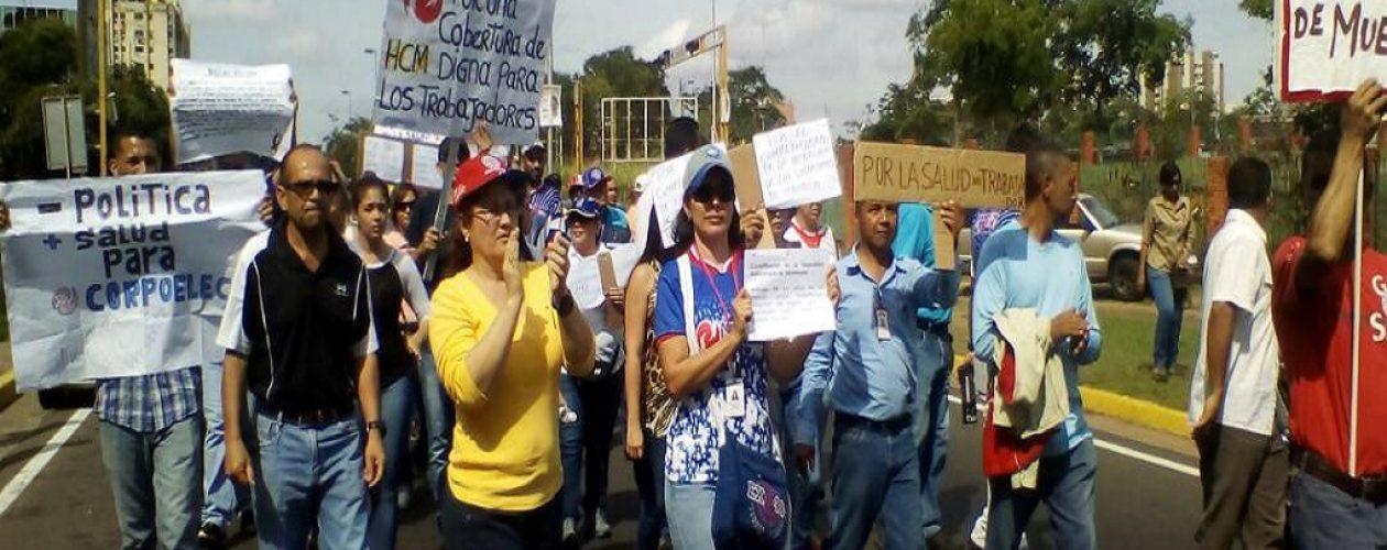 Trabajadores de Corpoelec reciben seguro HCM de apenas 800 mil bolívares
