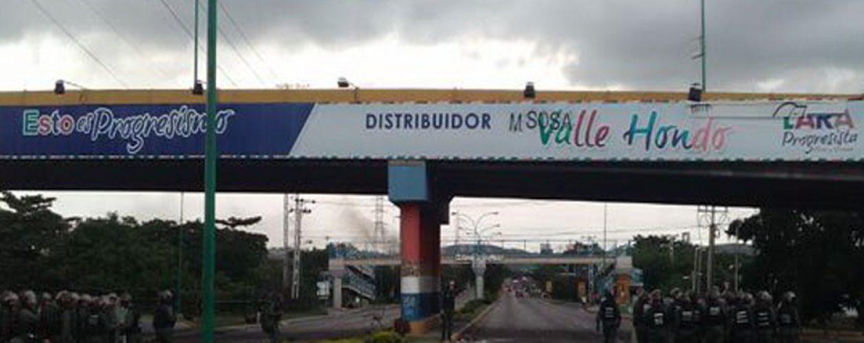 Cuatro heridos durante trancazo en Barquisimeto