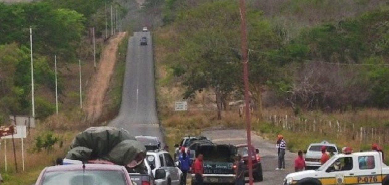 Troncal 10 trancada por desaparición de indígenas