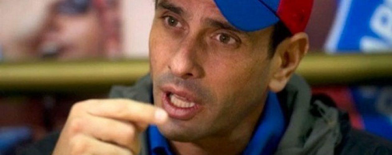 Capriles: TSJ prepara una inhabilitación en mi contra