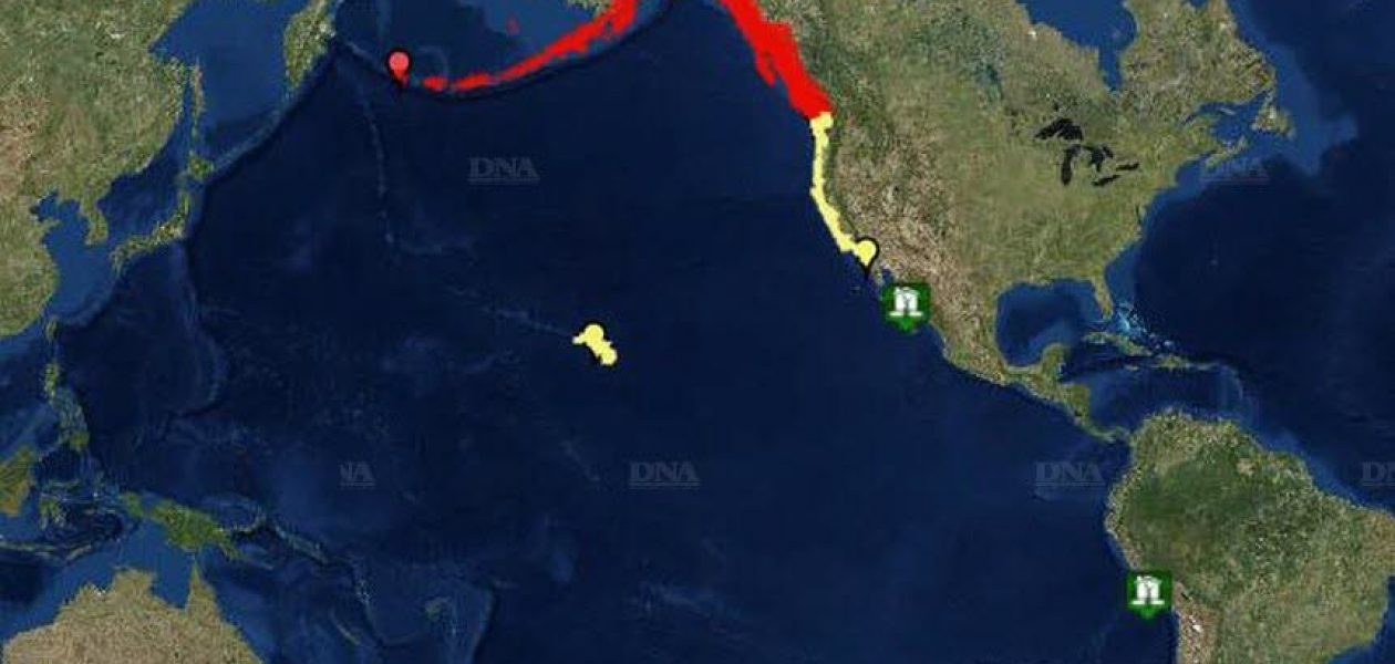 Cancelan alerta de tsunami en el Pacífico tras violento terremoto que sacudió Alaska este martes