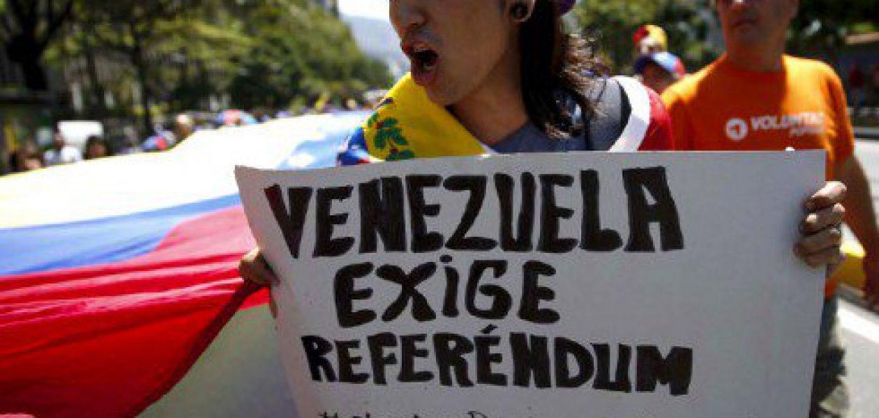 Uruguay, Chile, Argentina y Colombia respaldan revocatorio a Maduro