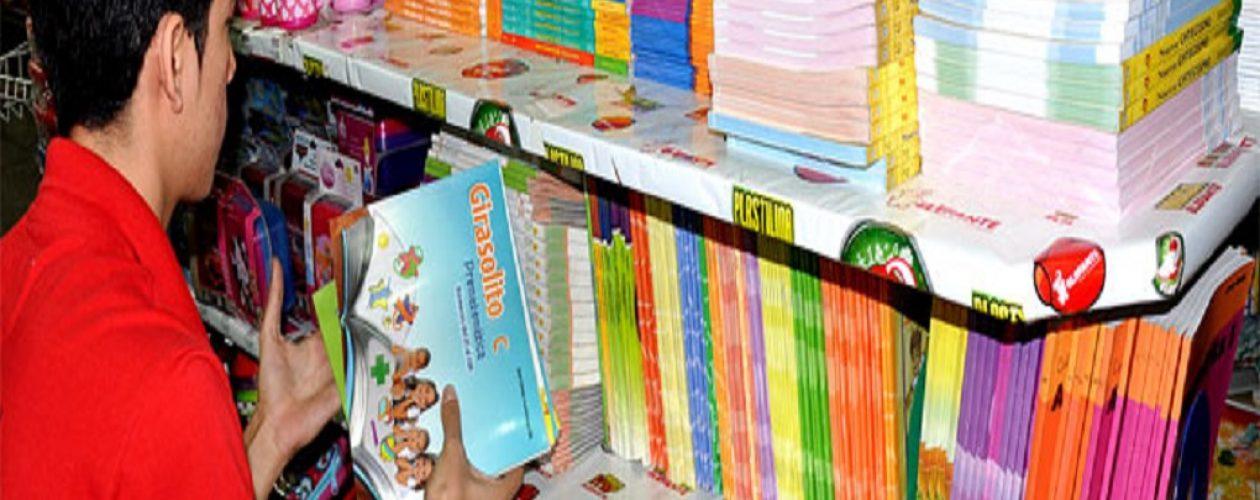 Lista de útiles escolares puede sobrepasar los 300 mil bolívares por niño