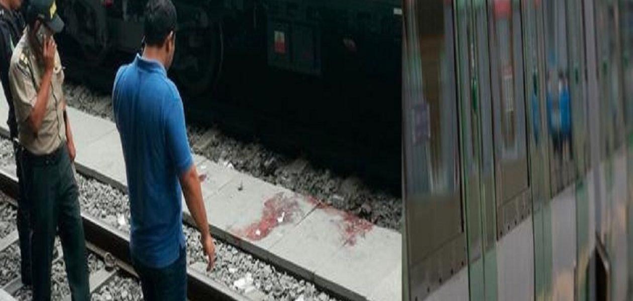 Venezolano que se lanzó al tren en el Metro de Lima fue identificado
