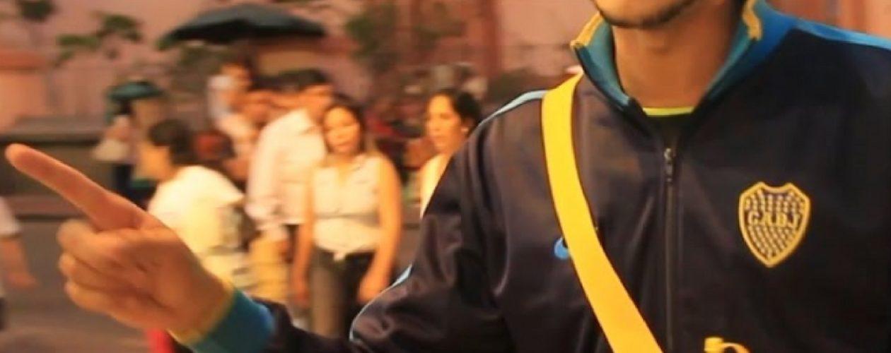 En video venezolano maltratado por vender arepas en Perú