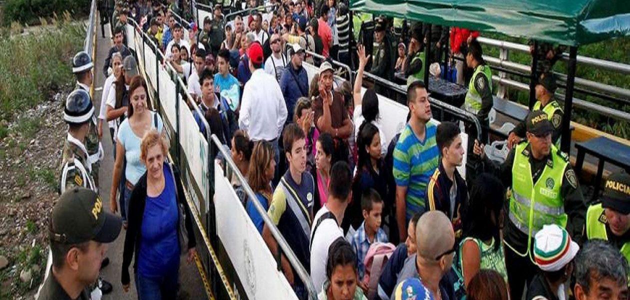 Venezolanos en Colombia desplazan mano de obra colombiana