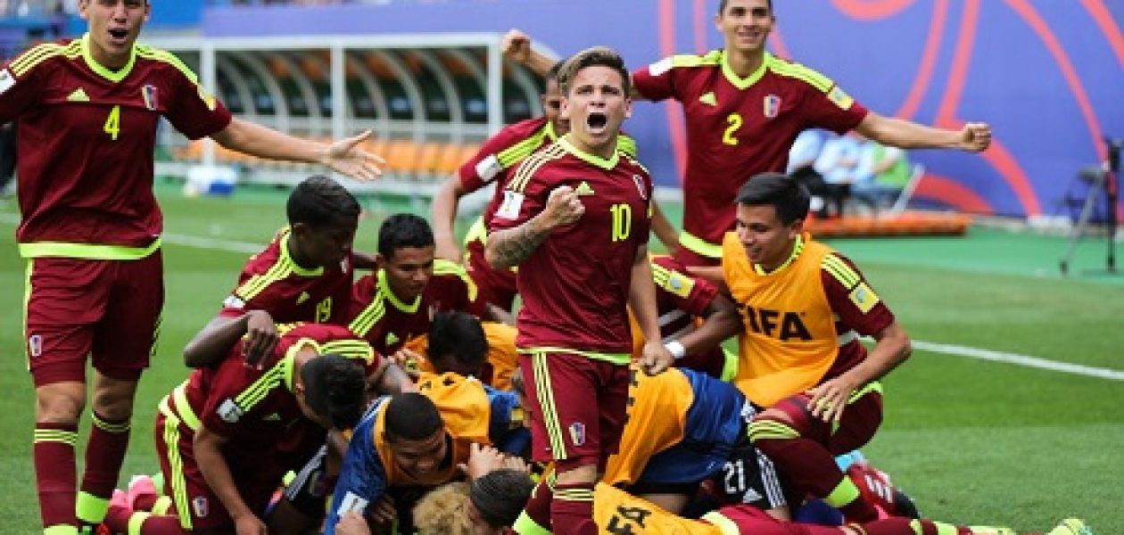 Venezuela Alemania Sub 20 queda 2-0