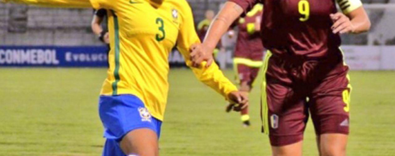 Juego Venezuela vs Brasil quedó 0-2