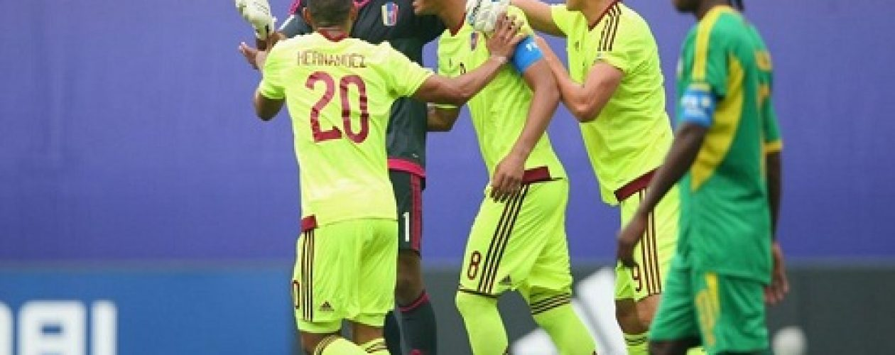 Resultado de Venezuela vs Vanuatu clasifica a los criollos a octavos de final